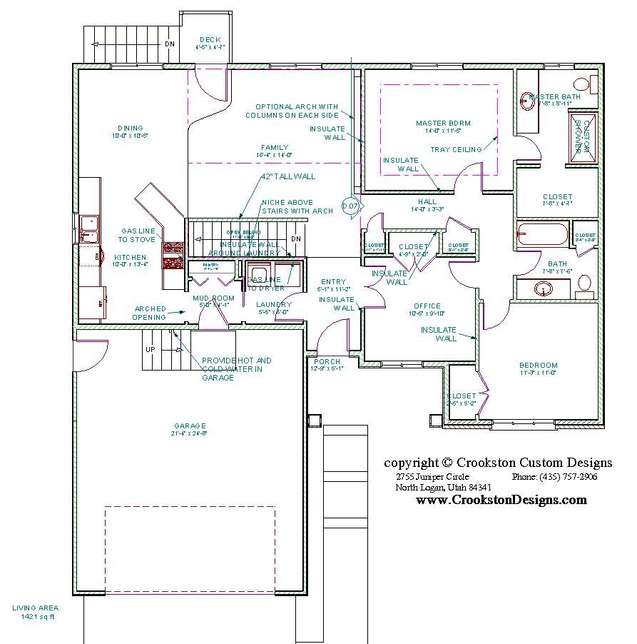 Crookston Designs Plan
