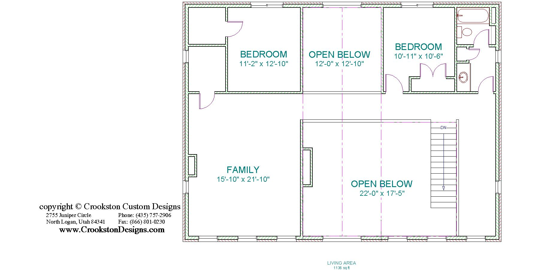 28 Sceond Floor Plan Universal Design 3 Bedrm 2247 Sq Ft Southern House Plan 153 1642